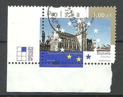 POLAND POLEN Polska 2009 Bruxelles Capitals Of European Union O Sheet Corner - 1944-.... Republic