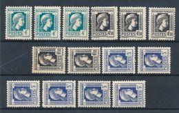 FRANCE - N° 643X3+644X5+645X6 NEUFS* AVEC CHARNIERE - 1944 - 1944 Coq Et Marianne D'Alger