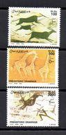 SOMALIA, 2002 - SERIE, SET - PITTURE RUPESTRI - ROCKY PAINTS,  MNH** - Somalia (1960-...)