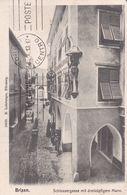 BRESSANONE / BRIXEN - BOLZANO / BOZEN - SCHLOSSERGASSE MIT DREIKOPFIGEM MANN - 1913 - Bolzano
