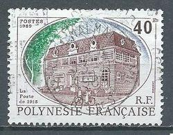 Polynésie Française YT N°323 La Poste De 1915 Oblitéré ° - Polynésie Française