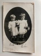 Foto Ak Poste De La Maison A Secteur 508? Armee Orient Deux Enfants Commune - Guerre 1914-18