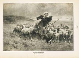 Flucht Vor Dem Gewitter (Gemälde Von H.Denrolle)  /  Druck, Entnommen Aus Zeitschrift / 1912 - Libri, Riviste, Fumetti