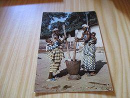 CPM Afrique - Cuisine D'Afrique. - Non Classés