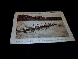 """IMAGE Fromage La Vache Qui Rit """" Aviron C.o.Billancourt """" N° 227 Série Les équipes Sportives Saison 1930_31 * - Cromos"""