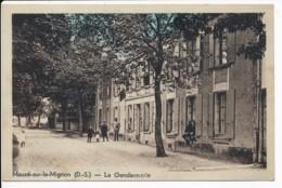 CPA 79 MAUZE SUR LE MIGNON La Gendarmerie - Mauze Sur Le Mignon
