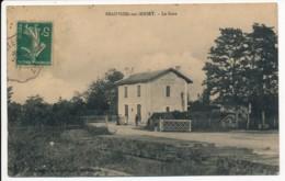 CPA 79 BEAUVOIR SUR NIORT Carte Rare La Gare - Beauvoir Sur Niort