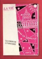 CALENDRIER LITURGIQUE 1962 - Réf. N°10417 - - Calendriers