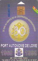 TOGO - 30th Anniversary Of Togo Port, Used - Togo