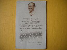 Avis De Deces,  Mort Pour La France En 1940 à Musson Belgique . Chef Scout Maréchal Des Logis . - 1939-45