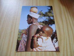 CPM Transvaal (Afrique Du Sud).Une Femme Et Son Bébé. - Sud Africa
