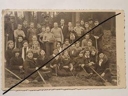 Photo Vintage. Original. Forestier. Journées Forestières 1937. Lettonie D'avant-guerre - Métiers