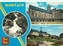 50 - Mortain - Multivues - Blasons - CPM - Voir Scans Recto-Verso - Autres Communes
