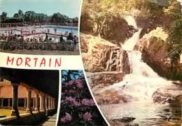 50 - Mortain - Multivues - Les Cascades - La Piscine - L'Abbaye Blanche - Etat Pli Visible - CPM - Voir Scans Recto-Vers - Autres Communes
