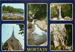 50 - Mortain - Multivues - Piscine - CPM - Voir Scans Recto-Verso - Autres Communes