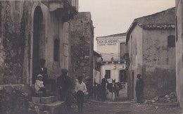 Carte Photo  : Castelmola (Italie Sicilia )   Una Via   Casa Blandano Camere   Asino   Ph Licari Taormina  Rara - Places