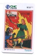 Télécarte CNC : Tintin - BD