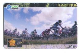 Télécarte CNC : Cyclisme - Tour De France - Sport