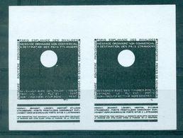 FRANCE  GREVE 1968 PARIS Invalides N° 16  N (x) Paire B De F S/ Blanc (essai ???) Original Cote 200 € Tb - Huelga