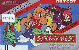 Télécarte Japon *  MANGA * FRONTBAR 110-011  * NAMCOT  (17.097)  ANIMATE * Animé * Japan TK * COMICS - BD