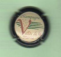 Juin20   Muselet De Champagne    Vallée De La Marne Contour Noir       N°11 - Vallée De La Marne