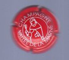 Juin20   Muselet De Champagne    Vallée De La Marne   Rouge        N°10 - Vallée De La Marne