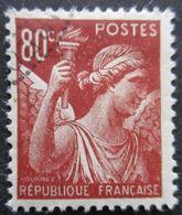 FRANCE Type Iris N°431 Oblitéré - 1939-44 Iris