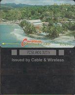 212/ St. Lucia; P3. Village, 7CSLA - Antilles (Neérlandaises)