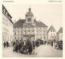 WISSEMBOURG 1934 - Vieux Papiers
