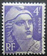 FRANCE Marianne De Gandon N°718a Violet Vif Oblitéré - 1945-54 Marianne De Gandon