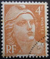 FRANCE Marianne De Gandon N°808 Oblitéré - 1945-54 Marianne De Gandon