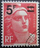 FRANCE Marianne De Gandon N°827 Oblitéré - 1945-54 Marianne De Gandon