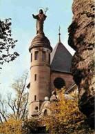 67 - Mont Sainte-Odile - Le Rocher Et La Statue De La Sainte - CPM - Voir Scans Recto-Verso - Sainte Odile