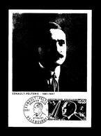 """"""" ROBERT ESNAULT-PELTERIE """" Sur Carte Maximum De 1967. Obl Le Bourget N° YT 1526 Parfait état CM - Zonder Classificatie"""