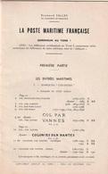 La Poste Maritime Française - Addendum Au Volume 1 - R. Salles - Poste Maritime & Histoire Postale