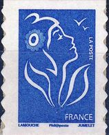 147  Marianne (2) LAMOUCHE Bleu EUROPE  Philaposte ADHESIF NEUF ** ANNEE 2008 - 2004-08 Marianne De Lamouche