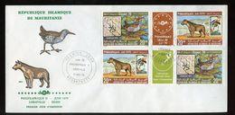 1978 FDC PHILEXAFRIQUE & Essen 1979 Gutter (455) - Mauritanië (1960-...)