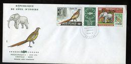 1978 FDC PHILEXAFRIQUE & Essen 1979 Gutter Elephant (455) - Ivoorkust (1960-...)