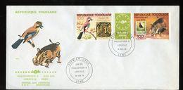 1978 FDC PHILEXAFRIQUE & Essen 1979 Gutter Elephant (455) - Togo (1960-...)
