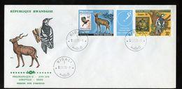 1978 FDC PHILEXAFRIQUE & Essen 1979 Gutter Elephant (455) - Rwanda