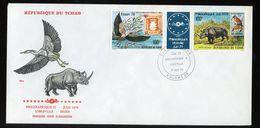 1978 FDC PHILEXAFRIQUE & Essen 1979 Gutter Elephant (455) - Tsjaad (1960-...)