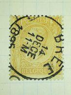 COB N° 50 / Oblitération Bree - 1884-1891 Leopold II