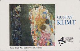 TC JAPON / 110-016 - PEINTURE AUTRICHE - KLIMT - Musée Vienna Wien - AUSTRIA Rel. PAINTING JAPAN Phonecard - 1923 - Malerei