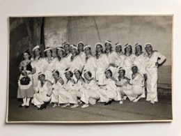 Foto Ak Theatre Marine Photographie D'art Sens Yonne Maurice Cleron - Sens
