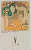Rare TC JAPON / 110-011 - PEINTURE AUTRICHE - KLIMT - BEETHOVEN FRISE - AUSTRIA Rel. PAINTING JAPAN Phonecard - 1926 - Peinture