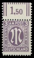 BIZONE AM-POST Nr 17aCz Postfrisch ORA X81E736 - Bizone