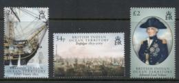 BIOT 2005 Battle Of Trafalgar Bicentenary, Death Of Nelson MUH - Britisches Territorium Im Indischen Ozean