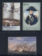 Jamaica 2005 Battle Of Trafalgar Bicentenary,Death Of Nelson MUH - Jamaica (1962-...)