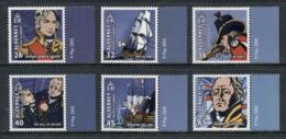 Alderney 2005 Battle Of Trafalgar Bicentenary, Nelson MUH - Wilmington