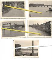 67 STRASBOURG 1940 PONT DE KEHL DESTRUCTIONS  RECONSTRUCTION ALLEMANDE - Strasbourg